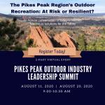 Pikes Peak Outdoor Industry Leadership Summit presented by Pikes Peak Outdoor Recreation Alliance at Online/Virtual Space, 0 0