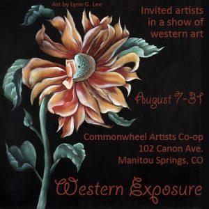 'Western Exposure' presented by Commonwheel Artists Co-op at Commonwheel Artists Co-op, Manitou Springs CO