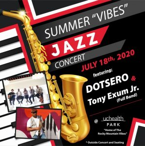 """The Outdoor Summer """"Vibes"""" Jazz Concert presented by Stargazers Theatre & Event Center at UCHealth Park, Colorado Springs CO"""