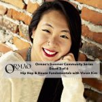 Parking Lot Hip Hop & House Fundamentals with Vivian Kim presented by Ormao Dance Company at Ormao Dance Company, Colorado Springs CO