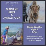 Marlene Kort & Janelle Cox presented by Hunter-Wolff Gallery at Hunter-Wolff Gallery, Colorado Springs CO