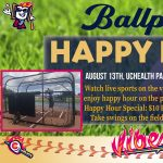 Happy Hour at the Ballpark presented by Rocky Mountain Vibes Baseball at UCHealth Park, Colorado Springs CO