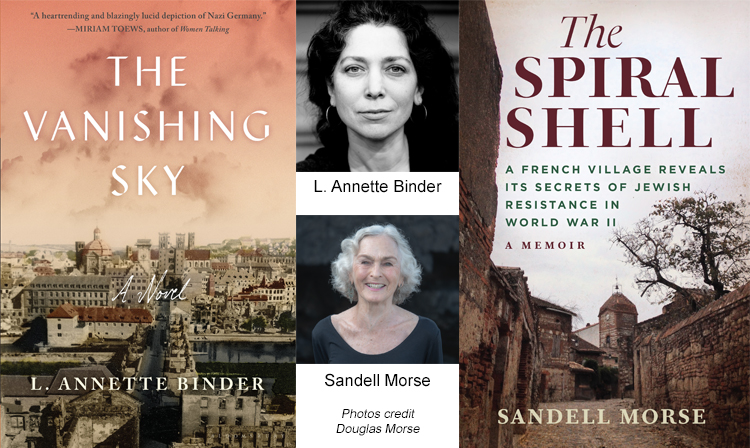 European Home Front in World War II: A Conversation with Authors L. Annette Binder & Sandell Morse presented by Pikes Peak Library District at Online/Virtual Space, 0 0