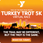 Virtual Turkey Trot 5K presented by YMCA of the Pikes Peak Region at Online/Virtual Space, 0 0