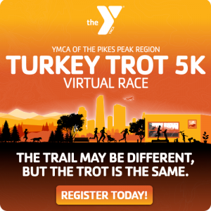 Virtual Turkey Trot 5K presented by YMCA of the Pikes Peak Region at Online/Virtual Space, 0 0