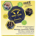 Crossroads Crew Club presented by  at Westside Community Center, Colorado Springs CO