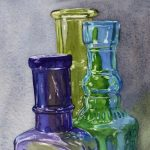 Painting Glass in Watercolor Workshop presented by Online/Virtual Space at Online/Virtual Space, 0 0