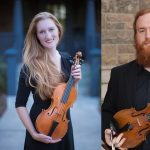 Zoom Meet & Greet Talk with Colorado Springs' violinists Jacob Klock and Elisa Wicks presented by Chamber Orchestra of the Springs at Online/Virtual Space, 0 0