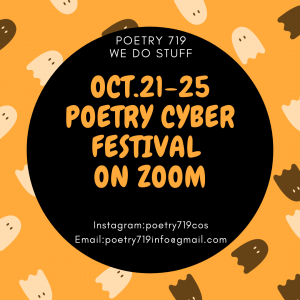 Poetry 719 Festival: Queer Open Mic presented by Poetry 719 at Online/Virtual Space, 0 0