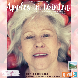 'Apples in Winter' presented by Funky Little Theater Company at ,
