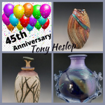Tony Heslop's 45th Anniversary Celebration: 'Still Fired Up!' presented by Hunter-Wolff Gallery at Hunter-Wolff Gallery, Colorado Springs CO