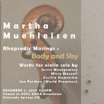 * Rhapsodic Musings: Body and Sky presented by GOCA (Gallery of Contemporary Art) at Online/Virtual Space, 0 0