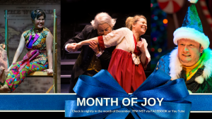 Theatreworks Month of Joy presented by Theatreworks at Online/Virtual Space, 0 0