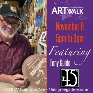 Tony Guidoat 45° presented by 45 Degree Gallery at 45 Degree Gallery, Colorado Springs CO
