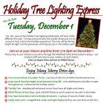 Holiday Tree Lighting Express presented by Widefield Community Center at Widefield Community Center, Colorado Springs Colorado