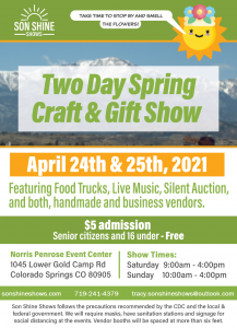 Spring Craft and Gift Show presented by Spring Craft and Gift Show at Norris Penrose Event Center, Colorado Springs CO