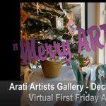 'Merry ART-mas' presented by Arati Artists Gallery at Arati Artists Gallery, Colorado Springs CO