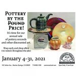 Pottery by the Price presented by Commonwheel Artists Co-op at Commonwheel Artists Co-op, Manitou Springs CO