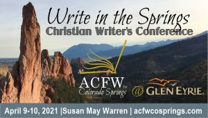 ACFW Write in the Springs Christian Writer's Conference presented by Long Form Improv Classes at Glen Eyrie Castle & Conference Center, Colorado Springs CO
