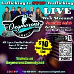 Lafficking to Stop Trafficking Comedy Show presented by Oxymorons Comedy at Online/Virtual Space, 0 0
