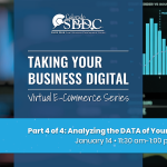 E-Commerce Series: Analyzing the DATA of Your Web Presence presented by Pikes Peak Small Business Development Center at Online/Virtual Space, 0 0