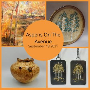 Aspens on the Avenue presented by Hunter-Wolff Gallery at Hunter-Wolff Gallery, Colorado Springs CO