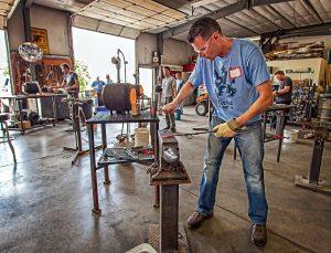 Basic Blacksmith Workshop presented by Rock Ledge Ranch Historic Site at Rock Ledge Ranch Historic Site, Colorado Springs CO