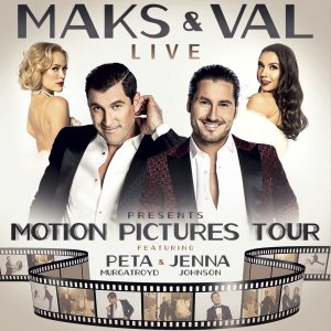 CANCELED: Maks & Va Live 2020: Motion Pictures Tour presented by Pikes Peak Center for the Performing Arts at Pikes Peak Center for the Performing Arts, Colorado Springs CO
