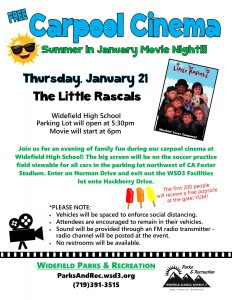 Carpool Cinema: Summer in January Movie Night presented by Home at ,