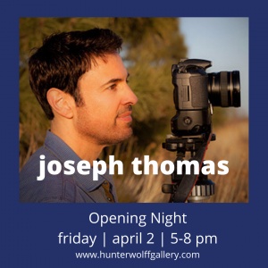 First Friday ArtWalk: 'Panoramic Colorado' by Joseph Thomas presented by Hunter-Wolff Gallery at Hunter-Wolff Gallery, Colorado Springs CO