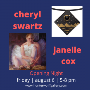 Cheryl Swartz & Janelle Cox presented by Hunter-Wolff Gallery at Hunter-Wolff Gallery, Colorado Springs CO