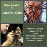 Adam Long presented by Hunter-Wolff Gallery at Hunter-Wolff Gallery, Colorado Springs CO