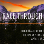 Fostering Fitness: Race Through The Rockies presented by Junior League of Colorado Springs at Online/Virtual Space, 0 0