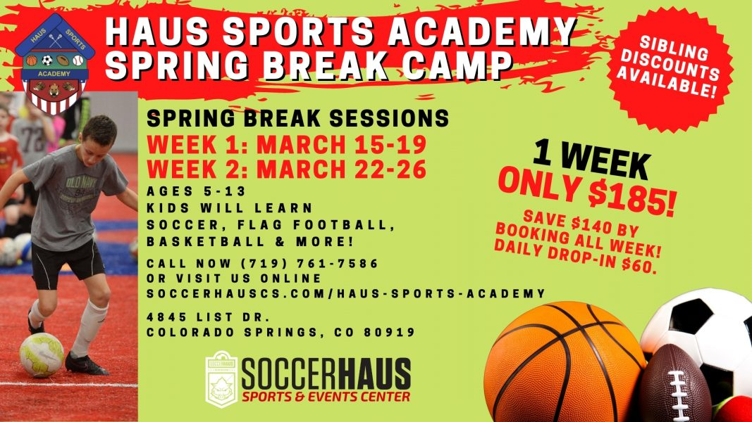 Haus Sports Academy Spring Break Camp presented by Parsons Honoring the Brave Golf Tournament at ,