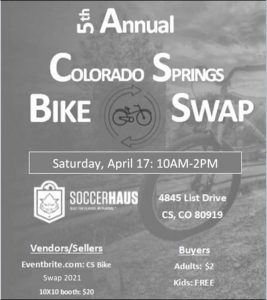 Colorado Springs Bike Swap presented by 2nd Annual Women's History Month STEAM Story Time at ,