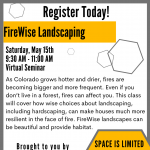 FireWise Landscaping presented by Peak Radar Live: Counterweight Theater Lab's 'Dream by Day' at Online/Virtual Space, 0 0