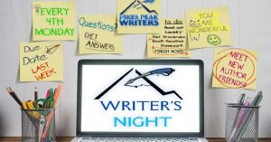 Writers' Night presented by Pikes Peak Writers at Online/Virtual Space, 0 0