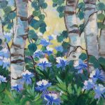 'Colorado Wildflowers' presented by Laura Reilly Fine Art Gallery and Studio at Laura Reilly Studio, Colorado Springs CO