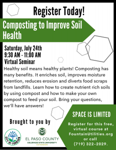 Composting to Improve Soil Health presented by Composting to Improve Soil Health at Online/Virtual Space, 0 0