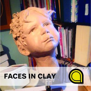 Faces in Clay Class presented by Cottonwood Center for the Arts at Cottonwood Center for the Arts, Colorado Springs CO
