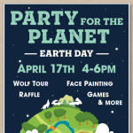 Party for the Planet: Earth Day presented by Colorado Wolf & Wildlife Center at Colorado Wolf & Wildlife Center, Divide CO