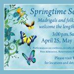Springtime Serenades: Garden Serenade presented by Colorado Vocal Arts Ensemble at Grace and St. Stephen's Episcopal Church, Colorado Springs CO