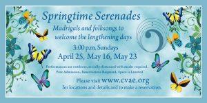 Springtime Serenades: Restoration Serenade presented by Colorado Vocal Arts Ensemble at ,