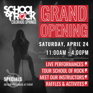 School of Rock Grand Opening Celebration presented by School of Rock at ,
