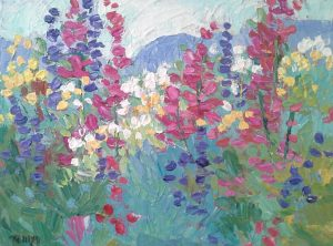 'Colorado Wildflowers' Virtual First Friday Artwalk presented by Laura Reilly Fine Art Gallery and Studio at Online/Virtual Space, 0 0