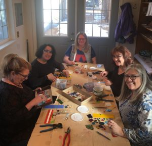 Fused Glass Classes presented by New Earth Beads at New Earth Beads Glass Studio, Colorado Springs CO