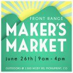 Front Range Maker's Market presented by  at ,