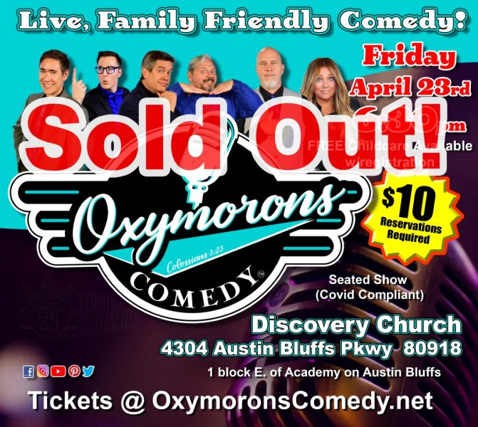 SOLD OUT: Oxymorons Comedy Night-O Live Comedy presented by Oxymorons Comedy at ,