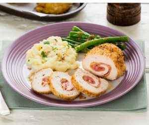 Chicken Cordon Bleu presented by Gather Food Studio & Spice Shop at Online/Virtual Space, 0 0