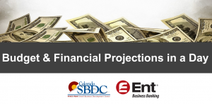 Budget and Financial Projections in a Day presented by Pikes Peak Small Business Development Center at Online/Virtual Space, 0 0